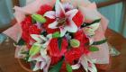 พวงหรีดดอกไม้สด พวงมาลา 1