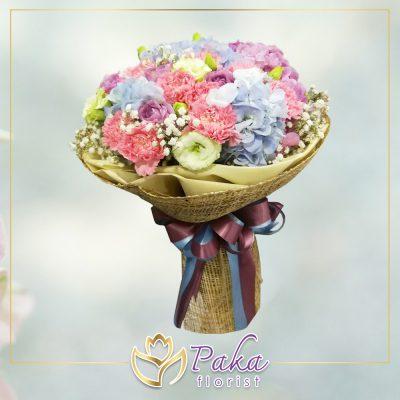 ช่อดอกไม้ พลอยเพชรรัตน์ 19 ดอกไม้สด ดอกไม้ จัดช่อดอกไม้ ส่งช่อดอกไม้ ดอกกุหลาบ ดอกลิลลี่ ดอกไฮเดรนเยีย ดอกคาร์เนชั่น