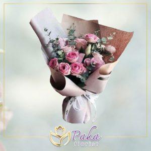 ช่อดอกไม้ พลอยเพชรรัตน์ 4 ดอกไม้สด ดอกไม้ จัดช่อดอกไม้ ส่งช่อดอกไม้ ดอกกุหลาบ ดอกลิลลี่ ดอกไฮเดรนเยีย ดอกคาร์เนชั่น